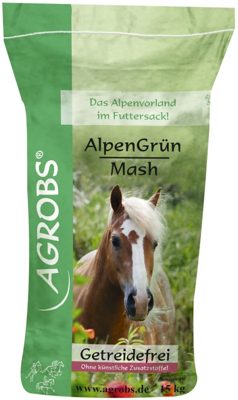 Agrobs Alpengrün Mash, 15kg